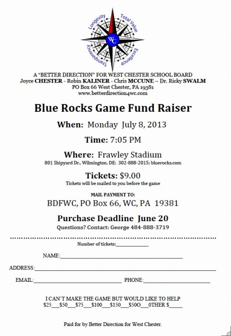 Blue Rocks : A Better Direction