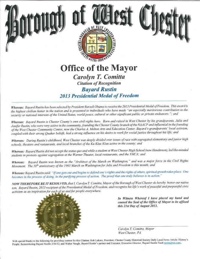 MayorCitation