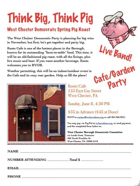 WCDem fundraiser 6-8-14