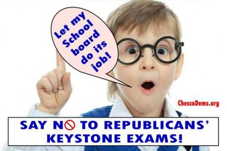No to Keystone Exams