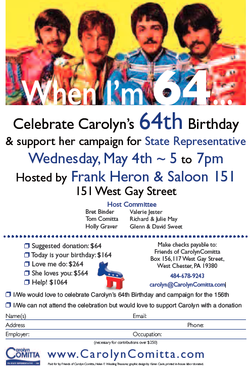 Carolyn celebration