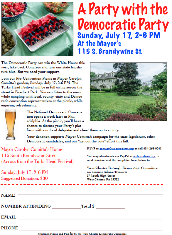 Party WCDems 7-17-16